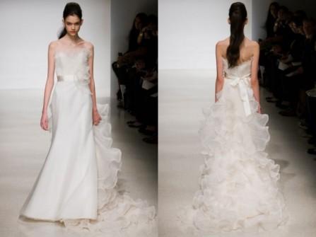 10 Kiểu váy cưới được yêu thích nhất Tháng 06