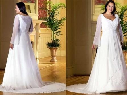 Chọn váy cưới cho cô dâu có thân hình đầy đặn