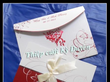 Thiệp cưới Kỳ Duyên