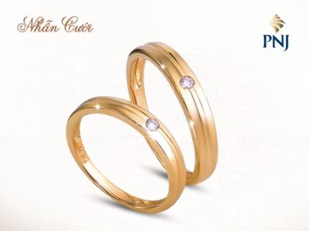 Nhẫn cưới PNJ - quà tặng của tình yêu