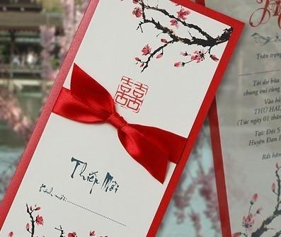 Cùng Cung Hỷ chọn thiệp cưới cho ngày vui của bạn
