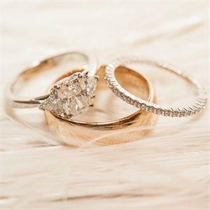 Những kiểu nhẫn cưới vàng cho ngày cưới