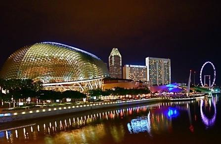 Trăng mật tuyệt với tại Singapore