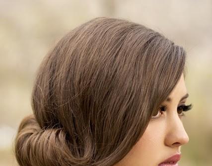 Kiểu tóc cưới cho cô dâu mặt tròn