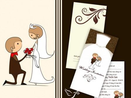 Thiệp cưới Gia Long