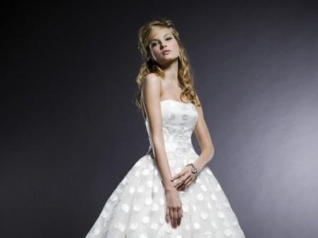 Lưu ý khi chọn áo cưới dài qua gối
