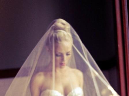 Áo cưới sequin quyến rũ cho tiệc tối