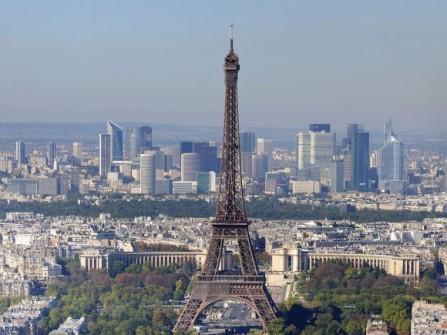 Trăng mật ở thành phố tình yêu Paris - Pháp