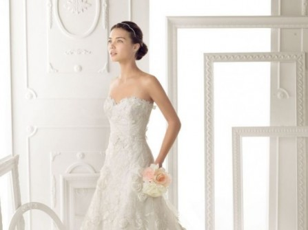 15 mẫu áo cưới tuyệt đẹp Aire Barcelona 2014