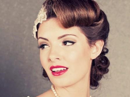 7 gợi ý tóc cưới theo phong cách vintage