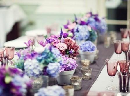 Tư vấn chọn hoa trang trí bàn cưới