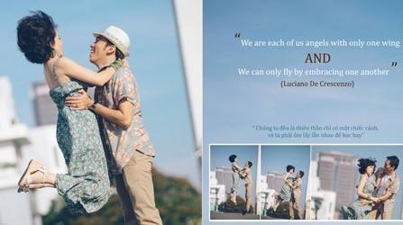 Chụp ảnh cưới: Hãy tươi mới như những ngày đầu tiên