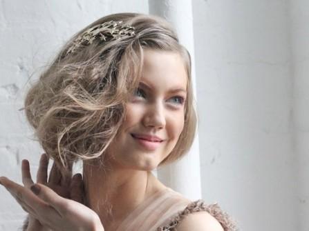 Tóc cưới mộng mơ như nữ thần Hy Lạp