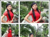 Trang phục phụ dâu Minh Tâm
