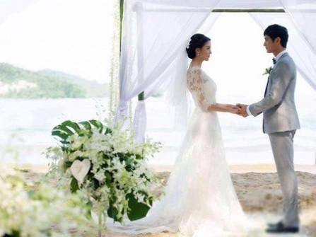 Hoa hậu Trương Tử Lâm làm đám cưới trên biển