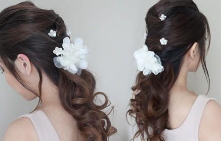Những mẫu tóc cưới được yêu thích nhất