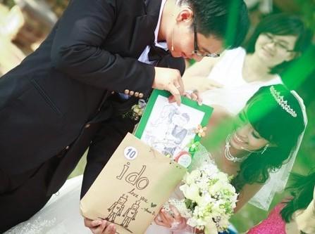 Đám cưới ngoài trời: Vườn địa đàng trên mặt đất