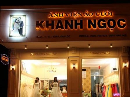 Ảnh viện áo cưới Khánh Ngọc