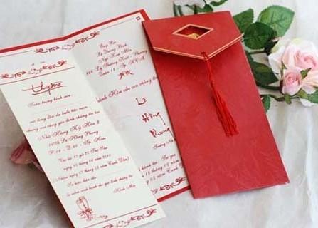 Thiệp cưới Quốc Hà