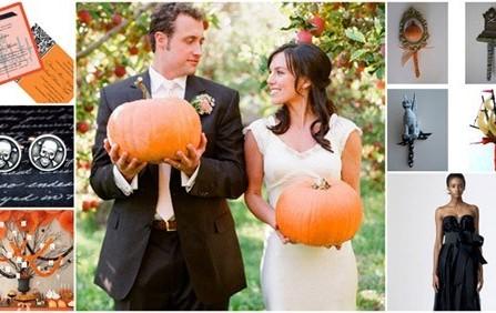 Làm đám cưới độc đáo theo kiểu Halloween