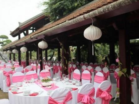 Địa điểm tổ chức đám cưới ngoài trời ở Hà Nội