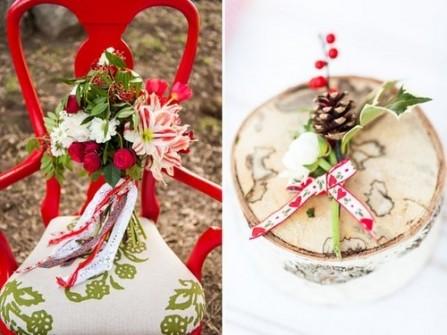 Theme cưới độc chiêu mùa Giáng sinh