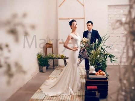 Váy cưới cho nàng thơ lãng mạn