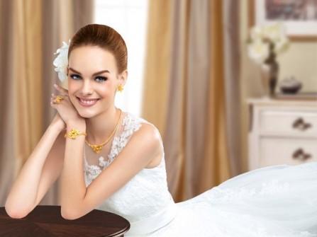Trang sức cưới kết tinh vẻ đẹp thiên nhiên