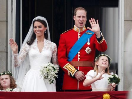 Đám cưới lãng mạn của hoàng tử Anh