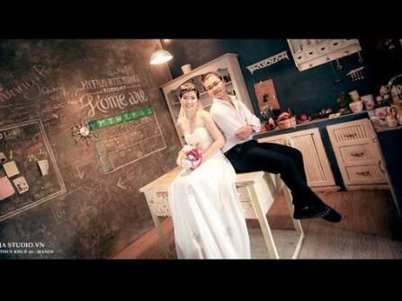 Địa điểm chụp ảnh cưới trong nhà ở Hà Nội