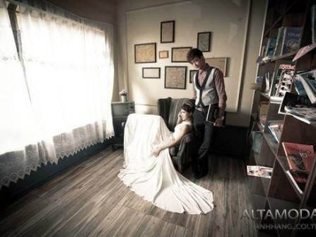 Địa điểm chụp ảnh cưới:  Phim trường Box Art