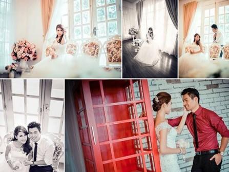 Địa điểm chụp ảnh cưới biệt thự hoa hồng ở Hà Nội