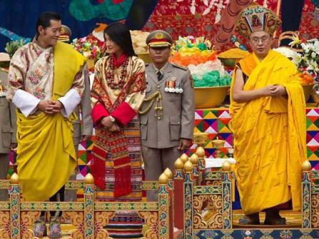Đám cưới đẹp như mơ của nhà vua Bhutan