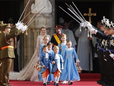 Đám cưới hoàng gia ở Luxembourg