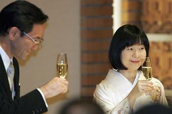 Đám cưới giản dị của công chúa Nhật
