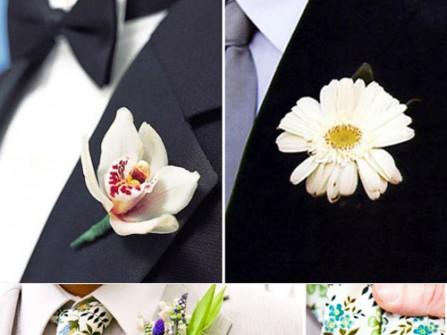 Ý nghĩa của hoa cài áo chú rể