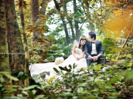 Địa điểm chụp ảnh cưới ở Ba Vì