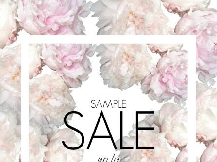 One week Sample Sale