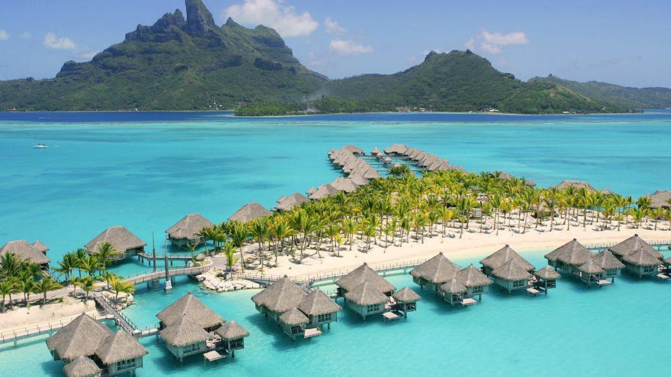 Toàn cảnh thiên đường Bora Bora