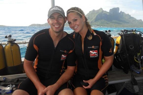 Đôi vợ chồng trẻ Scott và Shannon
