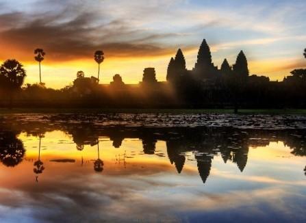Trăng mật lạ lẫm ở Angkor