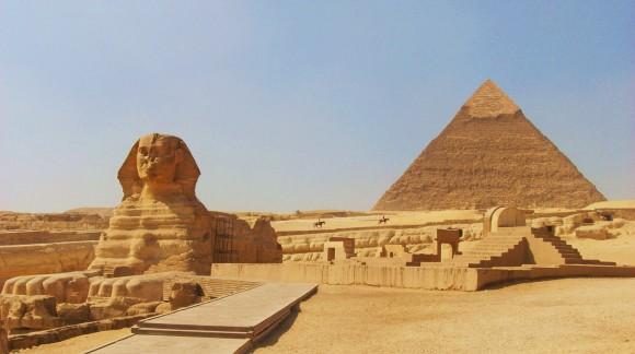 Kim tự tháp Giza và tượng nhân sư