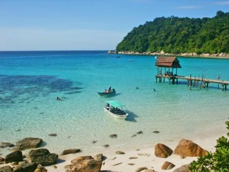 Ghé thăm viên ngọc biển Manukan