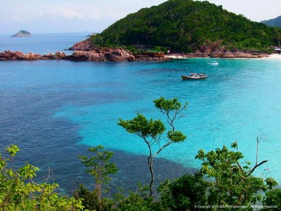 Toàn cảnh đảo Tioman