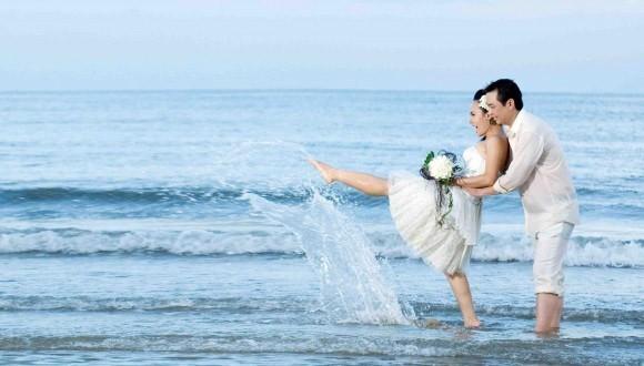Địa điểm chụp hình cưới biển Hồ Cốc