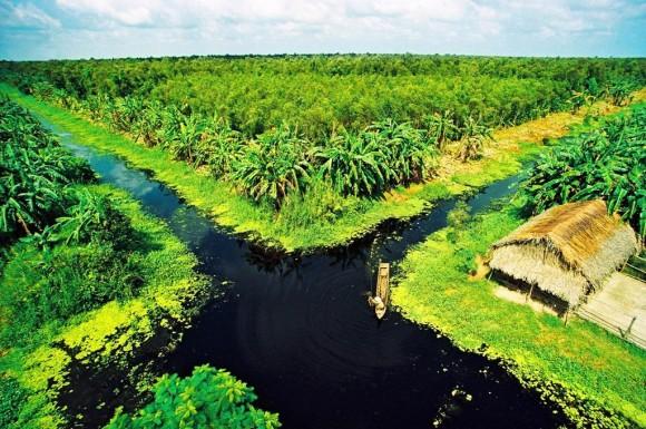Trăng mật nơi đất mũi Cà Mau