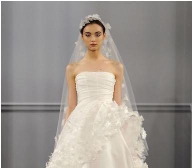 Xu hướng váy cưới 2014 – Từ các sàn diễn thời trang