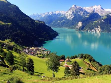 Trăng mật trong bạt ngàn thiên nhiên Thụy Sĩ