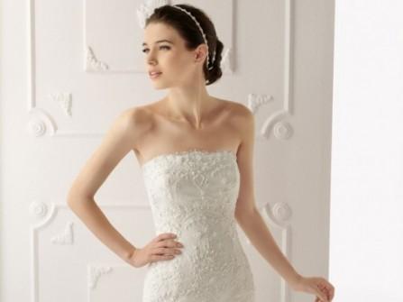 Váy cưới đuôi cá kết ren nổi