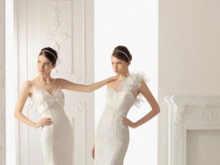 2 mẫu váy cưới đuôi cá ren gợi cảm